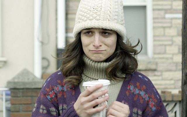 The very Jewish Jenny Slate in 'Obvious Child' (photo credit: Chris Teague)