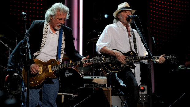 "Frank ""Poncho"" Sampedro and Neil Young have been performing together for decades (Courtesy CCA-SA)"