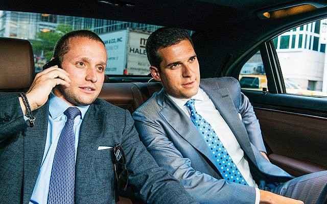 Tal (left) and Oren Alexander just brokered a record $100-million real estate deal, a Manhattan townhouse bought by their clients, the state of Qatar. (photo credit: Courtesy Oren Alexander website)