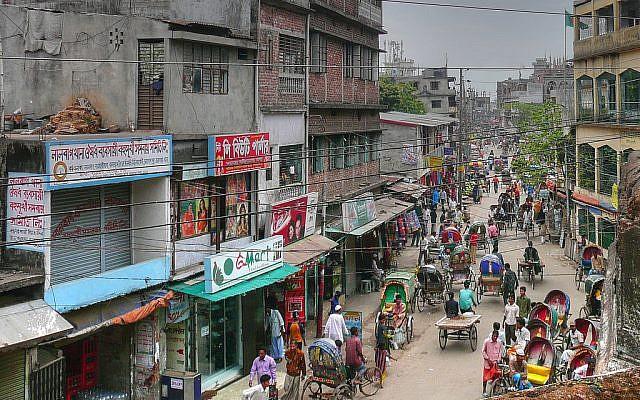 Dhaka. (photo credit: CC BY-SA  joiseyshowaa, Flickr)