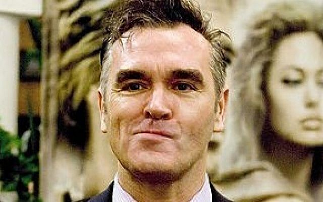 Former The Smiths singer and songwriter, Morrissey, in Dublin (photo credit: Wikimedia Commons, CC-BY-2.5, Caligvla)