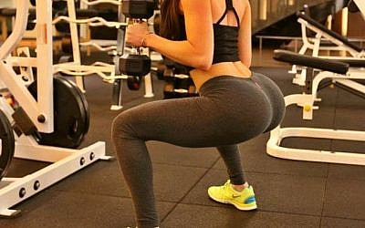 Jen Selter's belfies have 1.3 million Instagram followers (photo credit: courtesy)