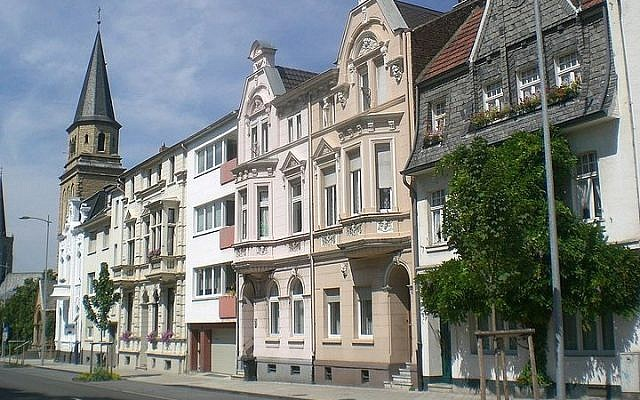 Street view, Euskirchen, Germany (photo credit: ThomasPusch/Wikimedia Commons/File)