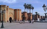 Street view in Rabat, the capital of Morocco (photo credit: russavia/Wikimedia Commons)