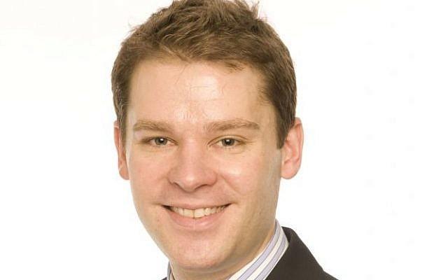 Aidan Burley in a 2010 campaign photo (public domain via wikipedia)