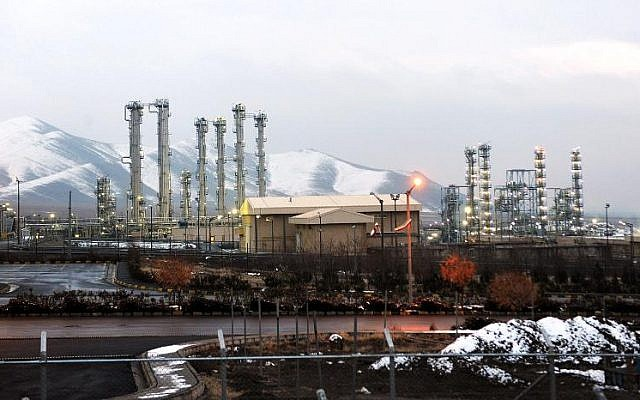 The future of Iran's Arak heavy-water IR-40 reactor is one of the major disagreement points between the US and the Islamic Republic (photo credit: Hamid Foroutan/ISNA/AFP/File)