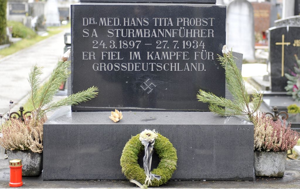 Swastikas On Austrian Tombstones Defy Official Ban The Times Of Israel