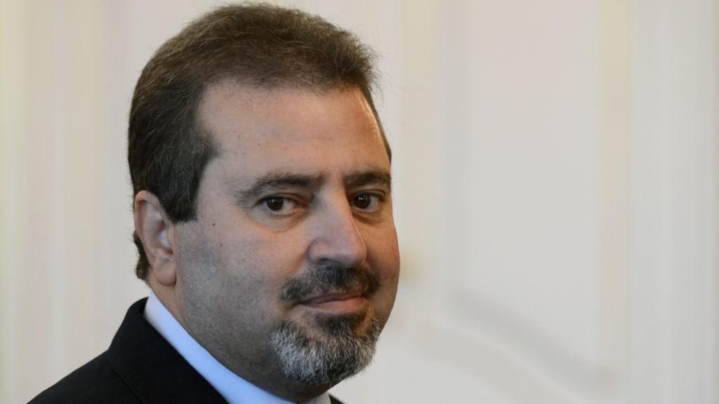 A file photo of Palestinian ambassador to the Czech Republic Jamel al-Jamal, who was killed in an explosion in his residence in Prague-Suchdol, Thursday, January 1, 2014 (photo credit: AP/CTK, Krumphanzl Michal)