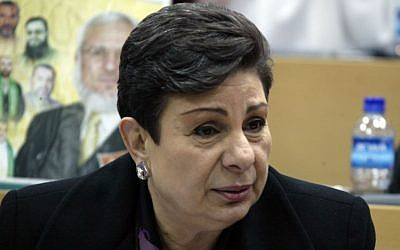 PLO official Hanan Ashrawi (Ahmad Gharabli/Flash90)
