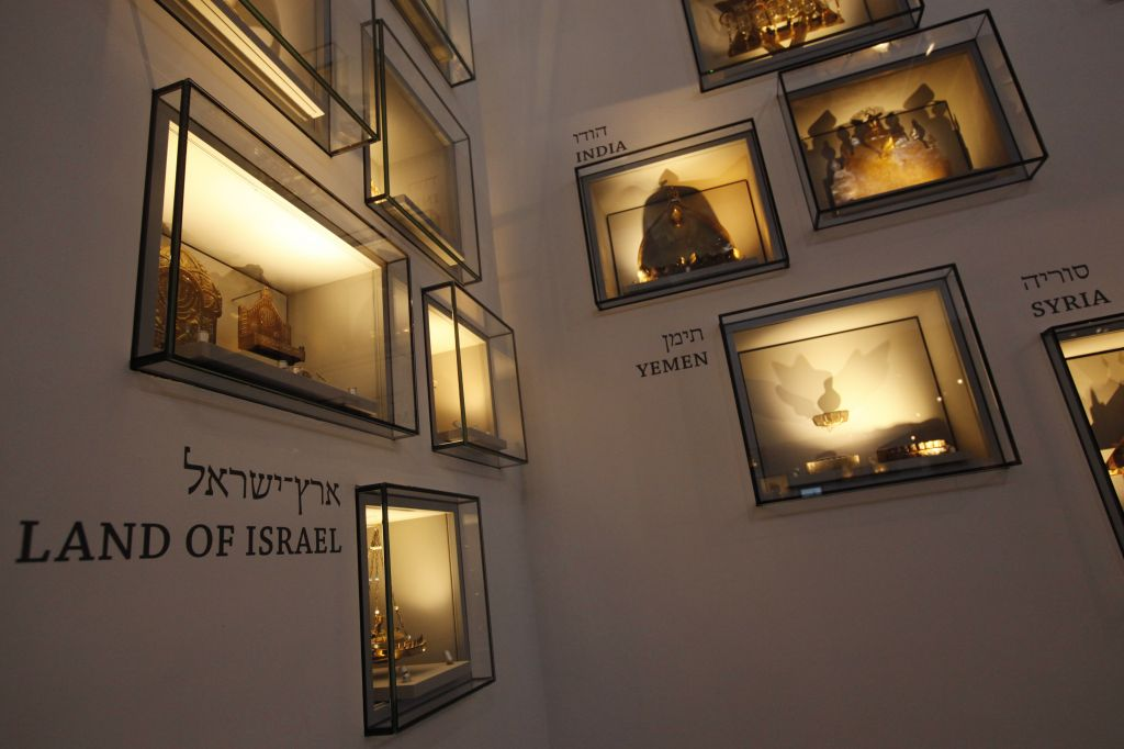 Just some of the Judaica displayed at the Israel Museum (photo credit: Miriam Alster/Flash 90)