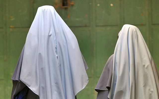 Illustrative photo of two nuns (photo credit: Serge Attal/Flash90)