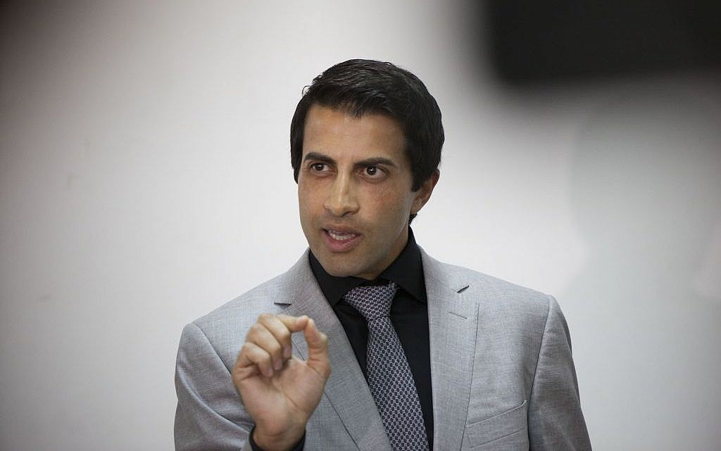 Mosab Hassan Yousef, son of Hamas leader Hassan Yousef. (Yonatan Sindel/Flash90)