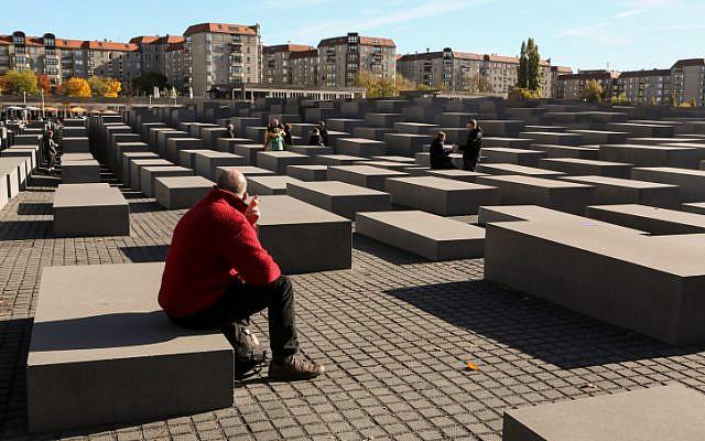 Holocaust Memorial in Berlin, Germany. (Nati Shohat/Flash90/File)