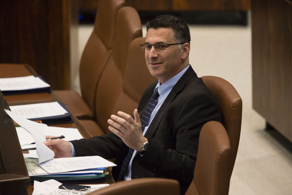 former interior minister gideon saar in the knesset december 23 2013