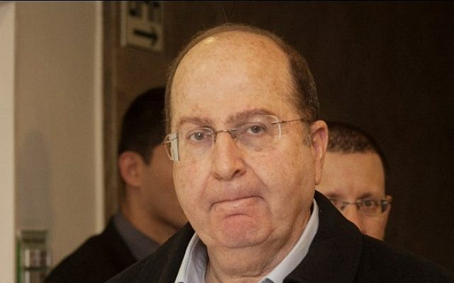 Defense Minister Moshe Ya'alon in Jerusalem on December 29, 2013. (photo credit: Ohad Zweigenberg/Flash90)