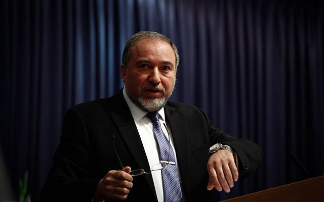 Foreign Minister Avigdor Liberman. (photo credit: FLASH90)