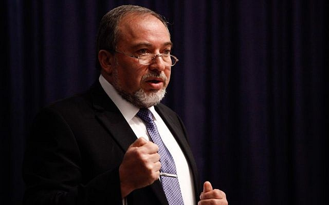 Foreign Minister Avigdor Liberman (photo credit: Flash90)