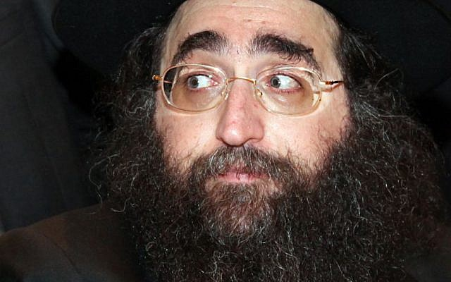 File: Rabbi Yoshiyahu Yosef Pinto (Gideon Markowicz/Flash90)