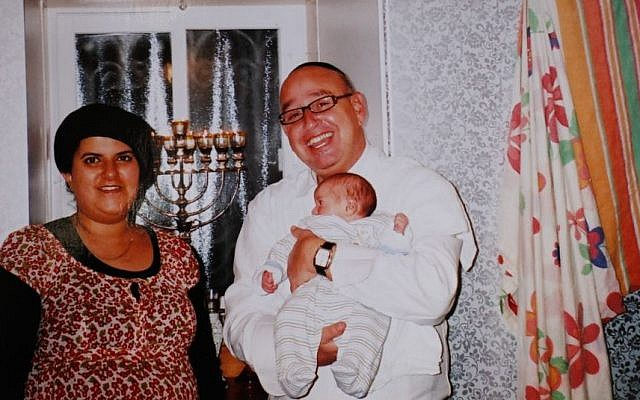 Avraham and Galit Tufan, and their 2-year-old son, Yossef Haim, who were killed late Sunday night, January 19, 2014, in a gas explosion at their home in the Gilo neighborhood of Jerusalem. (Photo credit: Reproduction photo by Flash 90)
