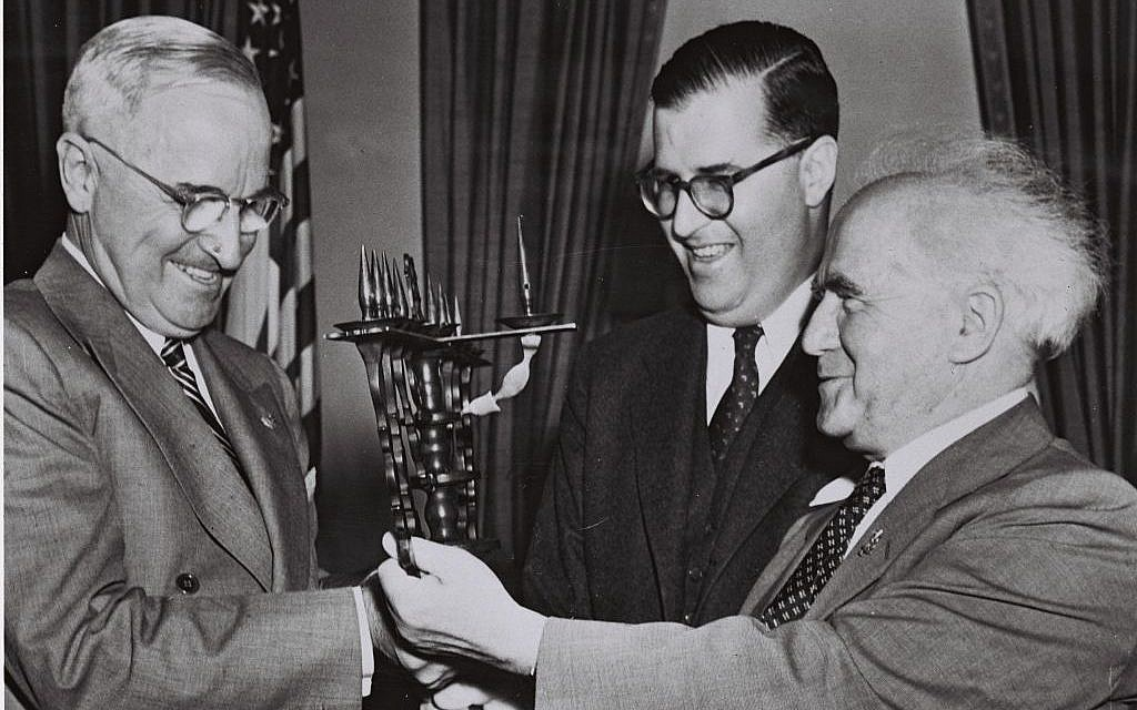 Image result for ben gurion harry truman