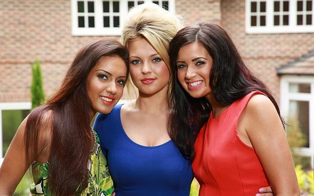The UK's three 'Girlfri3nds.' (photo credit: courtesy Keshet International)