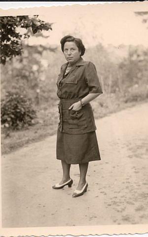 A photo of Gisi Fleischmann from the personal archive of her nephew Avri Fischer. (Courtesy of Natasha Dudinski)