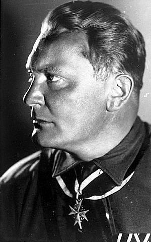 Hermann Göring (photo credit: German Federal Archives / Wikipedia)