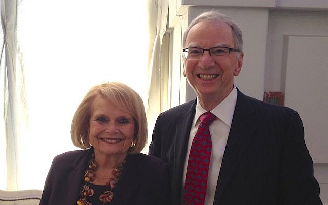 Joan and Irwin Jacobs (photo credit: Courtesy)