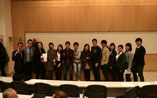 The KIEF participants (photo credit: courtesy)