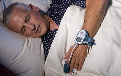 Itamar Medical's WatchPAT in action (Photo credit: Courtesy)