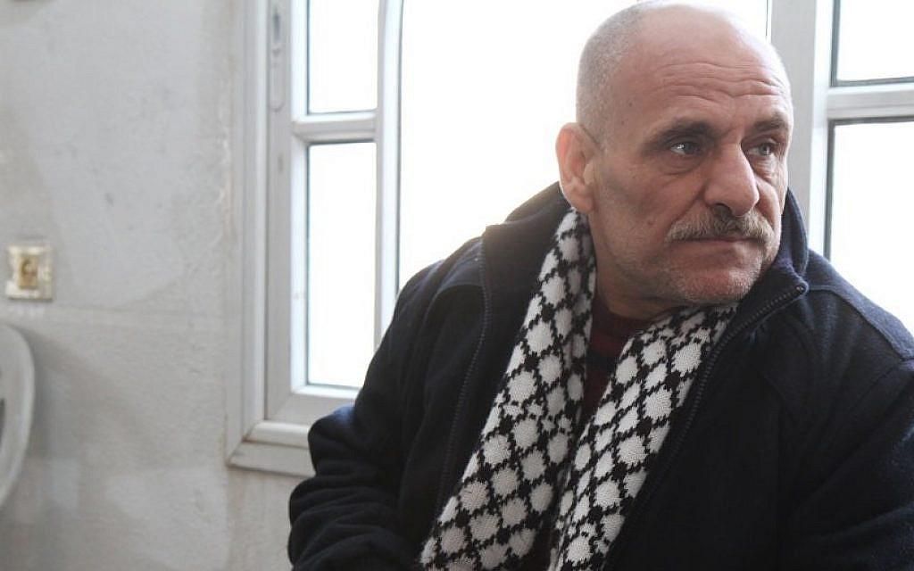 Freed Fatah terrorist Ahmad Kamil at home in Qabatiya (photo credit: courtesy Shlomi Gabbai/Walla News)