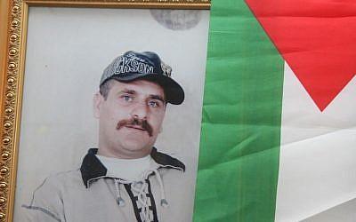 A photo of freed Fatah terrorist Ahmad Kamil as a young man (photo credit: courtesy Shlomi Gabbai/ Walla news)