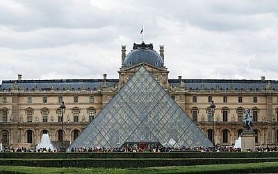 The Louvre (photo credit: Alvesgaspar/Wikipedia)