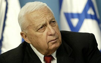 Former prime minister Ariel Sharon, in 2004 (photo credit: AP/Oded Balilty/File)