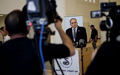 Prof. Zeev Rotstein at Sheba Medical Center on Monday, January 6, 2014. (photo credit: AP/Dan Balilty)