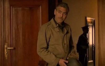 "George Clooney in ""Monuments Men."" (screen capture: YouTube)"
