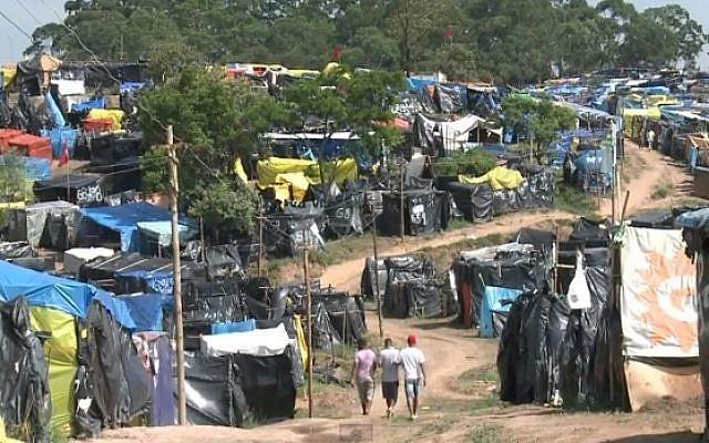 Nova Palestina, Brazil (photo credit: Youtube screenshot)