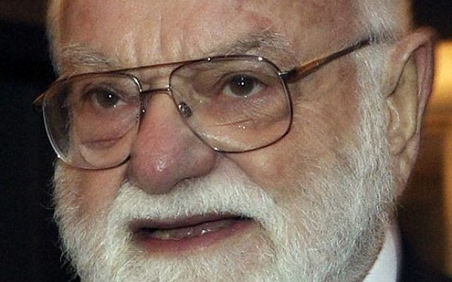 "Saul Zaentz, a music producer whose second career as a filmmaker brought him best-picture Academy Awards for ""One Flew Over the Cuckoo's Nest,"" ""Amadeus"" and ""The English Patient,"" died Friday, Jan. 4, 2014 in San Francisco. (photo credit: AP Photo/The Canadian Press, Frank Gunn, file)"