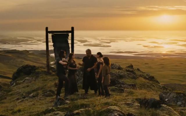 A scene from Darren Aronofsky's 'Noah.' (photo credit: YouTube screenshot)