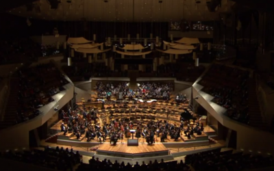 The Pittsburgh Symphony Orchestra performing in Berlin in 2013 (photo credit: screen capture, YouTube)
