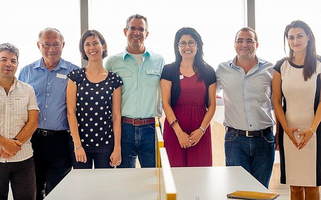 TheHive Ashdod team (photo credit: Courtesy)