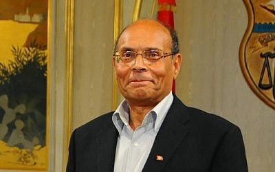 Former Tunisian Prime Minister Ali Larayedh in March, 2013 (photo credit: AP/Hassene Dridi)