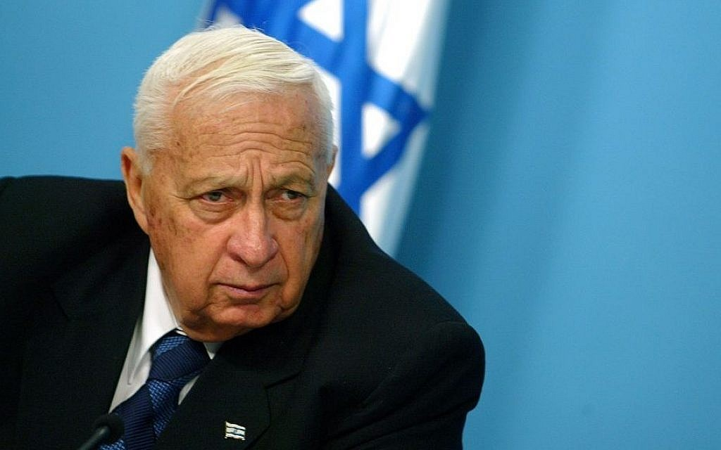 Prime minister Ariel Sharon (Photo credit: Olivier Fitoussi /Flash90)