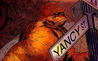 """Ben """"The Thing"""" Grimm (photo credit: courtesy Marvel)"""