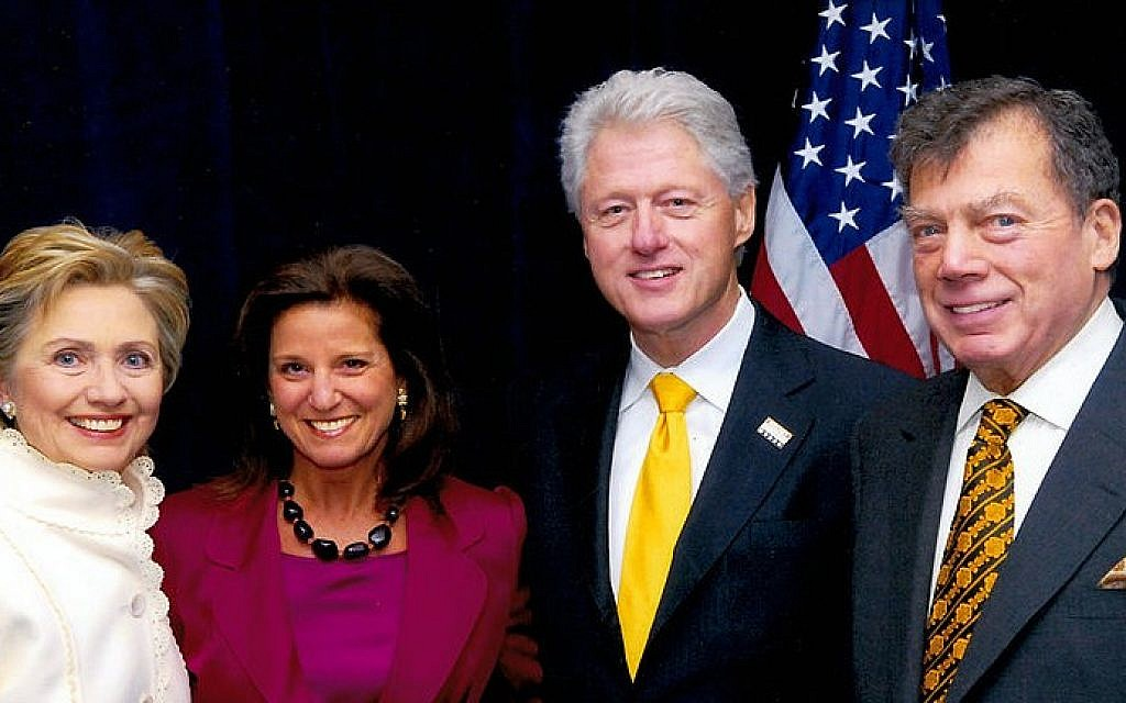 Peres, Clinton remember Edgar Bronfman in NY event | The Times of ...
