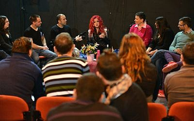 The event was held at the Tel Aviv LGBT Community Center at Gan Meir. (photo credit: courtesy image)