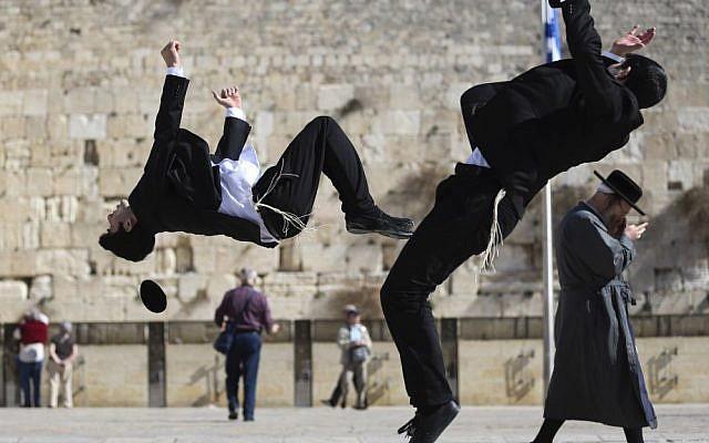 Miki and Yehuda Hayat have brought Capoiera to Israel's haredi Orthodox community (photo credit: Nati Shohat/Flash90)