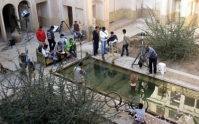 Illustrative photo: Film shoot in Iran. (photo credit: CC BY/rapidtravelchai,Flickr)