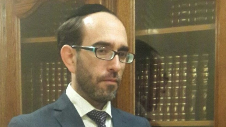 Itamar Tubul, the head of the Israeli Chief Rabbinate's personal status division, decides which American rabbis are qualified to vouch for the Jewishness of Israeli immigrants. (photo credit: JTA)