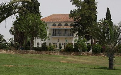 The administration building at Mikve Yisrael, where the school principal used to live (photo credit: Shmuel Bar-Am)